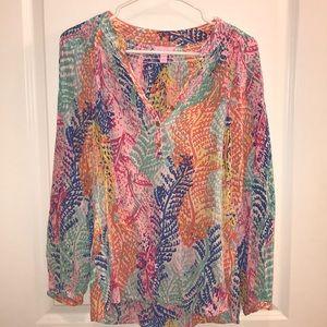 Lilly Pulitzer Elsa shirt